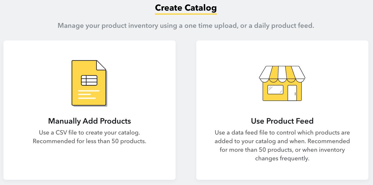 Create Catalog