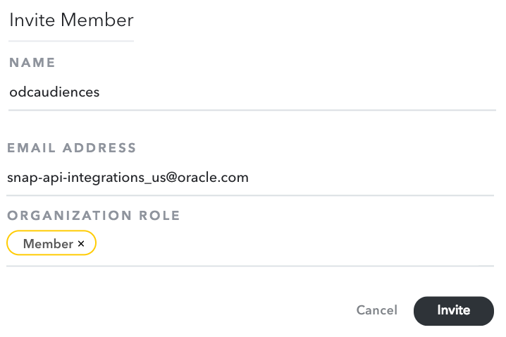 Oracle Audiences