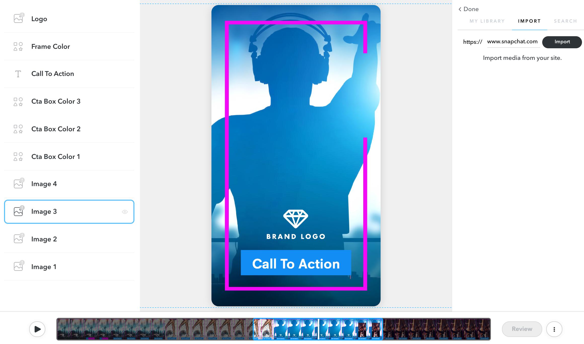 Customize Video Templates