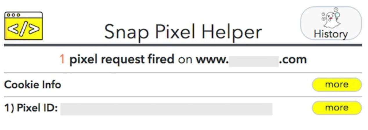 Snap Pixel Helper